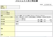 プロジェクト完了報告書1