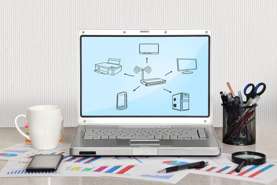 接続機器を選ばないWi-Fiの活用で業務効率アップ