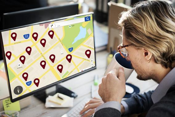 業務効率化の近道は社員の位置情報の把握!?