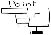 指・矢印の画像セット4