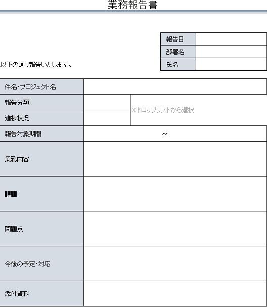 業務報告書2