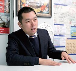 凪スピリッツの生田社長。ラーメンチェーンの一蘭(福岡市)勤務などを経て、2006年、東京・渋谷に「ラーメン凪」を開業し、会社を設立した(写真/的野弘路)