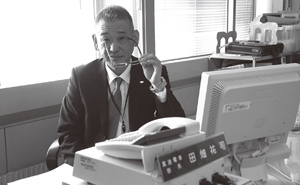 田畑祐司氏。自動車販売店勤務を経て、札幌市役所に転職した(写真/花岡俊吾)