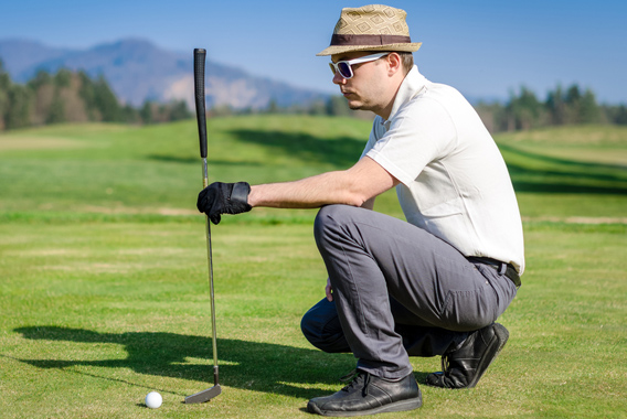 ゴルフを向上させる「虫の目」「鳥の目」「魚の目」