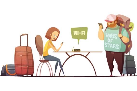 外国人観光客に人気の観光スポットがWi-Fiで分かる