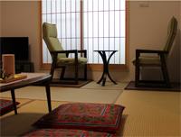 京都らしい和室の客室