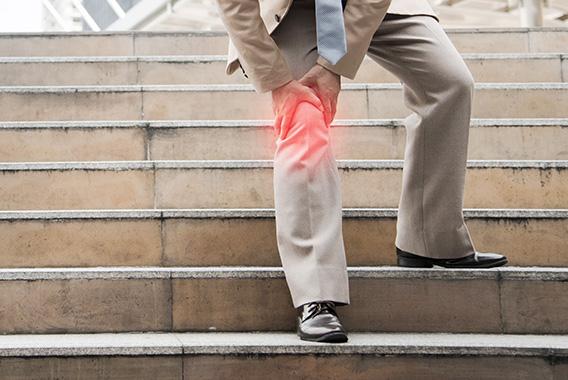 膝の痛み。軟骨が摩耗しているかも