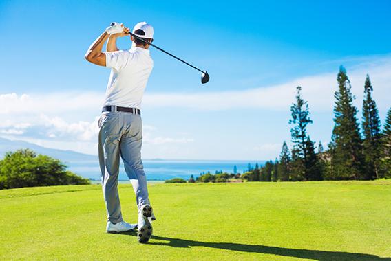 ゴルフスイングを安定させる体幹トレーニング