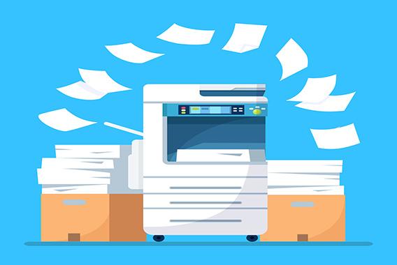 消す印刷。複合機は環境配慮で選ぶ