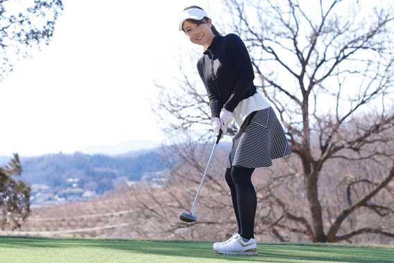 ゴルフとバランス「ゴルフでもマイナス右肩下がり」
