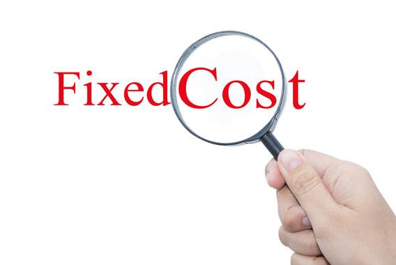 固定費の活用によって、粗利益率向上をめざす