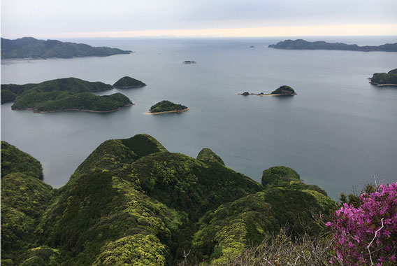 国境の島、対馬で山旅を楽しむ