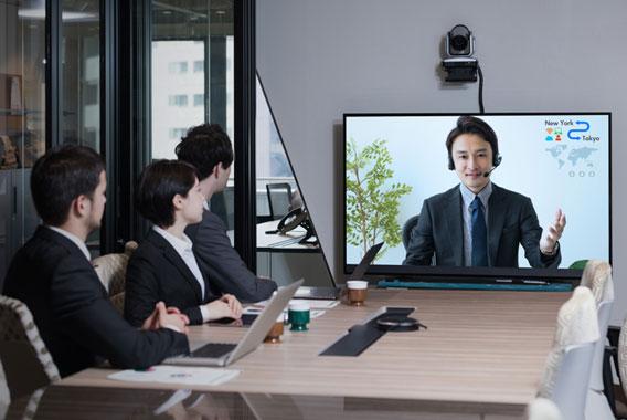 テレビ会議の映像がカクカク。働き方改革を阻害