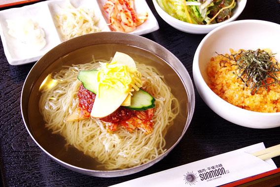浅草橋で本場の「平壌冷麺」を食す