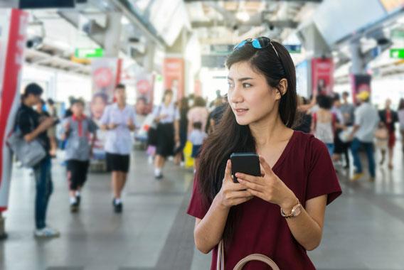 増加する中国人客対策、スマホ決済をまとめて導入