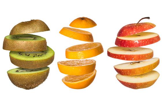 「切り方」の工夫で果物の栄養価を高める