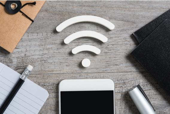 従業員と来客どちらも接続。ハイエンドなWi-Fi