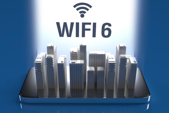 高速・多端末の同時接続はビジネスWi-Fi 6で