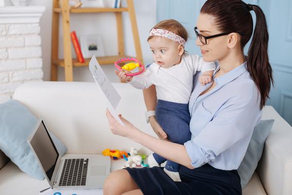 育児休業に関する書面