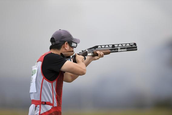 射撃競技の日本人唯一の金メダリスト 蒲池猛夫