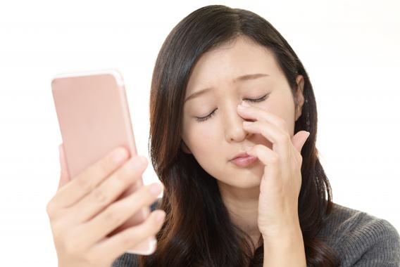 小まめなアイケアでテレワークによる目の不調を防ぐ