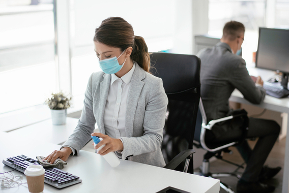 マスク非着用者に対する対処法と企業の感染予防対策